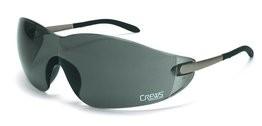 Crews Blackjack Gray Lens Safety Glasses