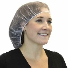Safety Zone Heavyweight Polyester Hair Nets