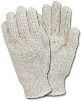 Safety Zone Medium Weight String Knit Gloves