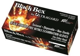 Ultragard Black Box 5.6 Mil Nitrile Exam Powder Free Gloves