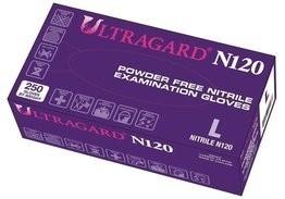 Ultragard N120 Violet 3.5 Mil Nitrile Exam Powder Free Gloves