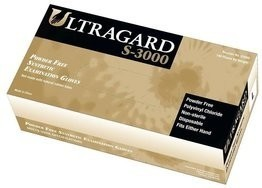 Ultragard S3000 4 Mil Vinyl Exam Stretch Powder Free Gloves