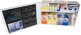 Safety Zone 100 Person Metal Wall Mountable First Aid Kit - Osha Compliant