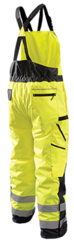 Occunomix ANSI Type R Class E High Visibility Winter Bib Pants LUX-WBIB