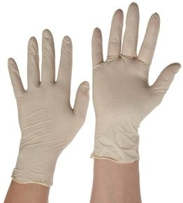 Ammex LX3 Latex Powder Free Textured Gloves