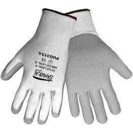 Global Glove PUG313 Samurai Gloves - Tuffalene HDPE Shell - Polyurethane Dipped Palm