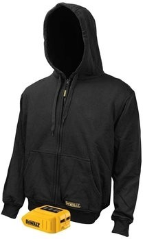 DeWalt DCHJ067B Black Heated Hoodie