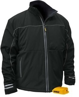 DeWalt DCHJ072B Lightweight Heated Soft Shell Work Jacket - No Battery