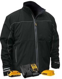 DeWalt DCHJ072D1 Lightweight Battery Heated Soft Shell Work Jacket