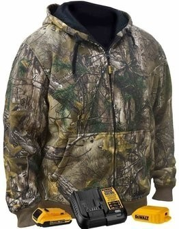 DeWalt DCHJ074D1 Realtree Xtra® Camouflage Heated Hoodie