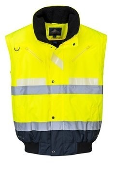 Portwest G465 Glowtex 3 in 1 Bomber Jacket