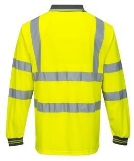 Portwest S277 Hi Vis Long Sleeve Polo