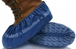 f37b1748037d20 BlueMed Big Foot Pro HD Non Slip Shoe Covers - Size XXL - Made in North