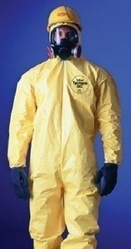 DuPont TyChem Coveralls With Hood and Boots #QC122S