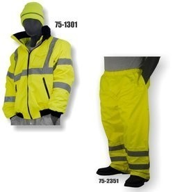Majestic Hi Vis Bomber Jacket and Pants ANSI 3