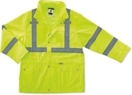 Ergodyne GloWear 8365 Hi Vis Rain Jacket - ANSI 2