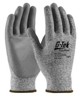 PIP G-Tek 16-150 Seamless Knit Polykor Blended Polyurethane Coated Cut Level 3 Gloves