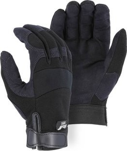 Majestic 2137 Armor Skin Velcro Closure Gloves
