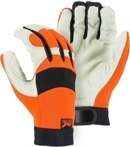 Majestic 2152HV Bald Eagle Hi Vis Gloves