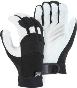 Majestic 2153 White Eagle Gloves