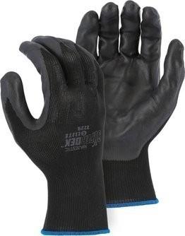 Majestic 3229 SuperDex Elite Black Nitrile Palm Coated Gloves