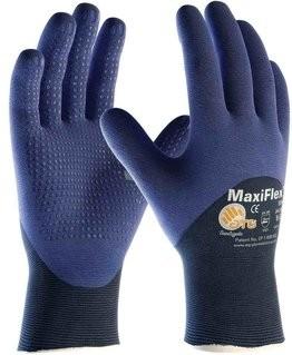 PIP MaxiFlex Elite 34-245 Micro-Foam Dotted 3/4 Dipped Gloves