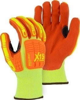 Majestic X15 Knucklehead Cut Resistant Level 5 Gloves