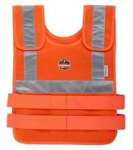 Ergodyne Chill-Its 6200 Hi Vis Orange Phase Change Cooling Vest