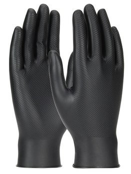 PIP Ambi-Dex Grippaz 6 Mil Nitrile Powder Free Gloves With Textured Fish Scale Grip