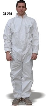 Majestic 74-201 AeroTEX SMS Coveralls with Elastic Wrists and Ankles