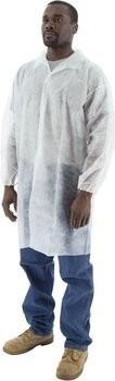 Majestic Polypropylene Lab Coats - No Pockets