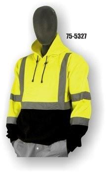 Majestic 75-5327/5328 100% Polyester Hi-Vis Hoodie - ANSI 3