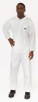 Enviroguard 8013 MicroGuard MP Coveralls with Elastic Cuffs & Back - Compare to Tyvek