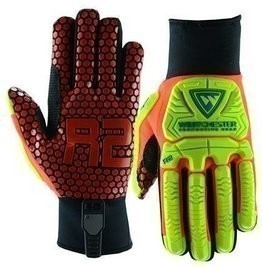 West Chester R2 87010 Rigger Gloves with Silicone Palm