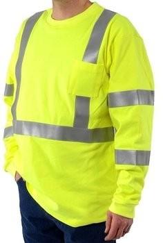 Majestic 95637 FR Long Sleeve T-Shirt - ANSI 3