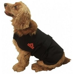 Techniche 9529 Thermafur Air Activated Heating Dog Coat with Heat Pax
