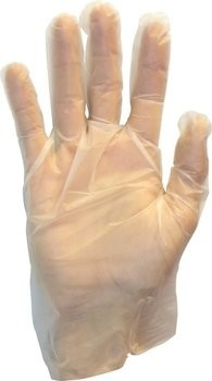 Safety Zone Micro-Textured Poly Vinyl Powder Free Gloves