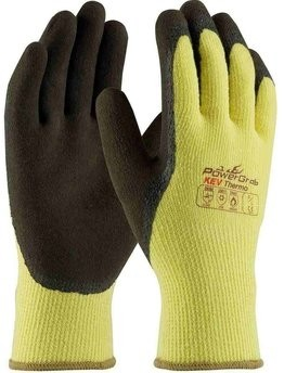 PIP PowerGrab KEV Thermo 09-K1350 Kevlar/Latex Coated Cut Level 3 Gloves