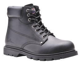Portwest FW16 Leather Steelite Welted Safety Boot with Steel Toecap