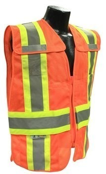 Radians SV24-2 Class 2 Breakaway Expandable Two Tone Safety Vest