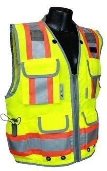 Radians SV55 Class 2 Heavy Duty Two Tone Engineer Safety Vest