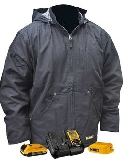 DeWalt DCHJ076A Heavy Duty Battery Heated Work Jacket