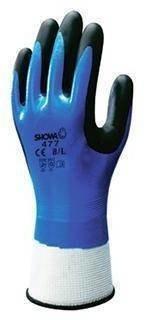 Showa 477 Insulated Nitrile Foam Grip Gloves