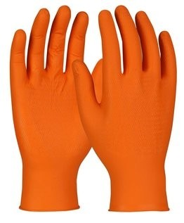 PIP Ambi-dex(R) WOW Disposable 8 Mil Nitrile Gloves with Aggressive Zigzag Grip