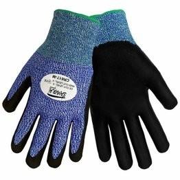 Global Glove CR617 Samurai Gloves - Tuffalene HDPE Shell - Foam Nitrile Dipped