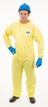Enviroguard ChemSplash 1 7012YS Coveralls with Elastic Wrists, Open Ankle - Compare to Tyvek