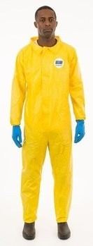 Enviroguard ChemSplash 1 7013YS Coveralls with Hood, Elastic Cuffs - Compare to Tyvek