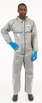 Enviroguard ChemSplash 2 7212GT Coveralls with Elastic Wrists, Open Ankles - Compare To Tychem