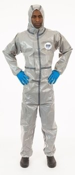 Enviroguard ChemSplash 2 7215GT Coveralls with Hood, Elastic Cuffs - Compare to Tychem