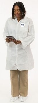 Enviroguard 8025 MicroGuard Microporous Lab Coats with Pockets & Open Wrists - Compare To Tyvek